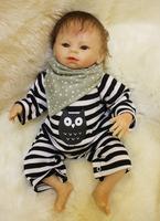 Soft silicone reborn baby dolls vinyl baby doll manufacturer