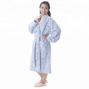 1a48c424e7 Microfiber Ladies Long Bathrobe