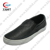 Fashionable Custom High-quality black new style loafer shoes men