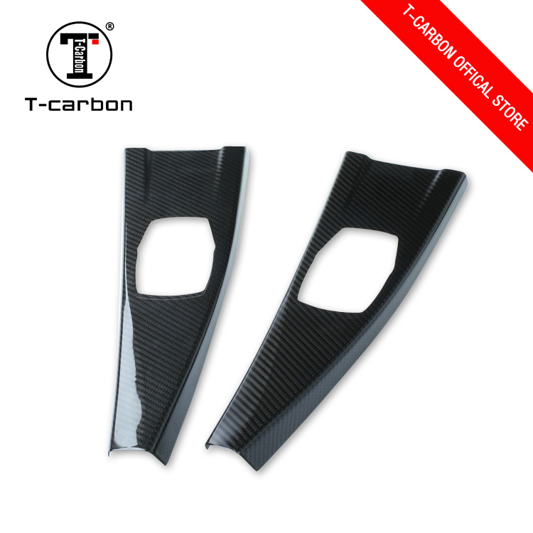 T-carbon hot sale car inside carbon fibre auto trim for BMW
