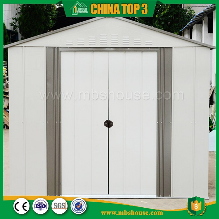 Fast installation steel metal cement shed storage rooms