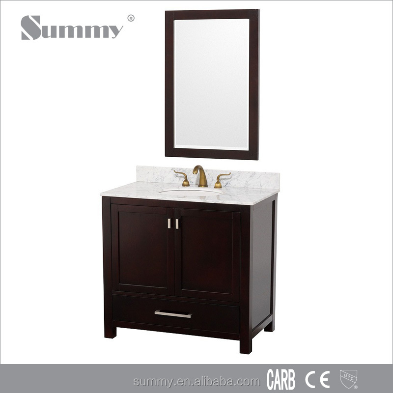 Pink bathroom vanity waterproof bathroom furniture