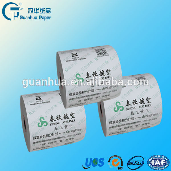 Register Thermal Paper Rolls 80mm with Red Warning line