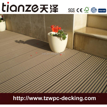 Pwc Hollow Decks Plastic Decoration Decking For Outdoor Garden Recycle  Material For Patio Flooring
