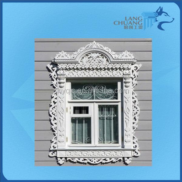 Waterproof Pop Cement Glassfiber Reinforced Concrete Victoria Style Window Frame