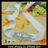 2016 Professional wedding dress sash rhinestone applique bridal belt crystal appliques trim for wedding dresses belt