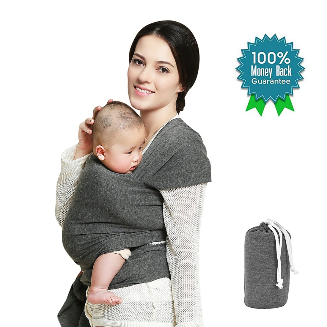 f1ebb4904bd Get Quotations · Baby Wrap Carrier up to 35lbs