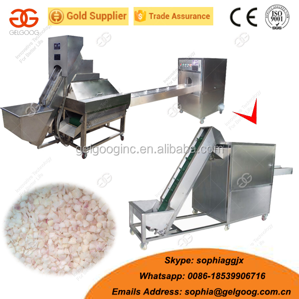 Industrial Spring Onion Cutting Machine Onion Rings Sliver Cutter
