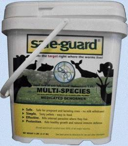 Safeguard Safe-Guard 0.5% Alfalfa Multi-Species Pellets