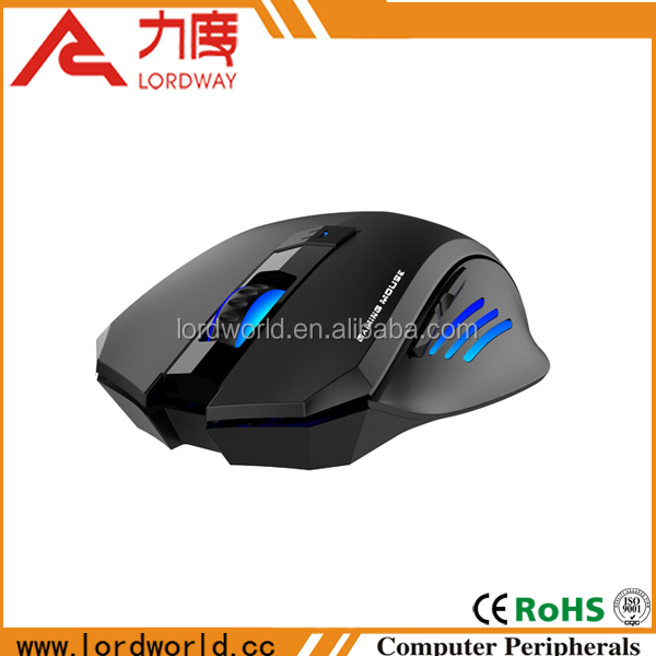 Advancedl wired 6D optical gaming mouse with backlights