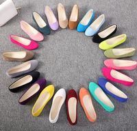 UP-0261D Casual fashionable women shoes lady flat sole shoes for summer