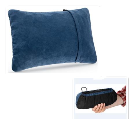 サポートサンプルスーパーソフトアウトドアキャンプ枕キャンプ用圧縮性旅行枕
