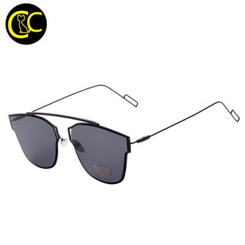 Mewah baru bingkai logam antik kacamata perempuan merek desainer baru yang  keren kacamata fashion pria klasik 7d5b1cc71f