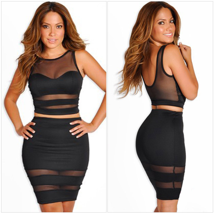 Cheap Two Piece Bodycon Skirt Set, find Two Piece Bodycon Skirt ...