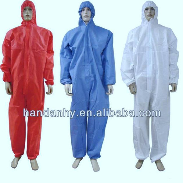CE Certified SMS Protective Coverall
