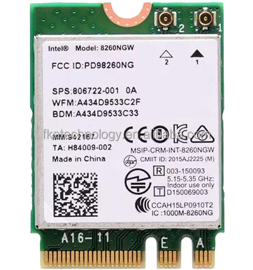 Intel Dual Band 8260NGW NGFF 867Mbps Wireless-AC 8260 Wifi Card New