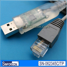 CP2102, Transparent USB serial cable