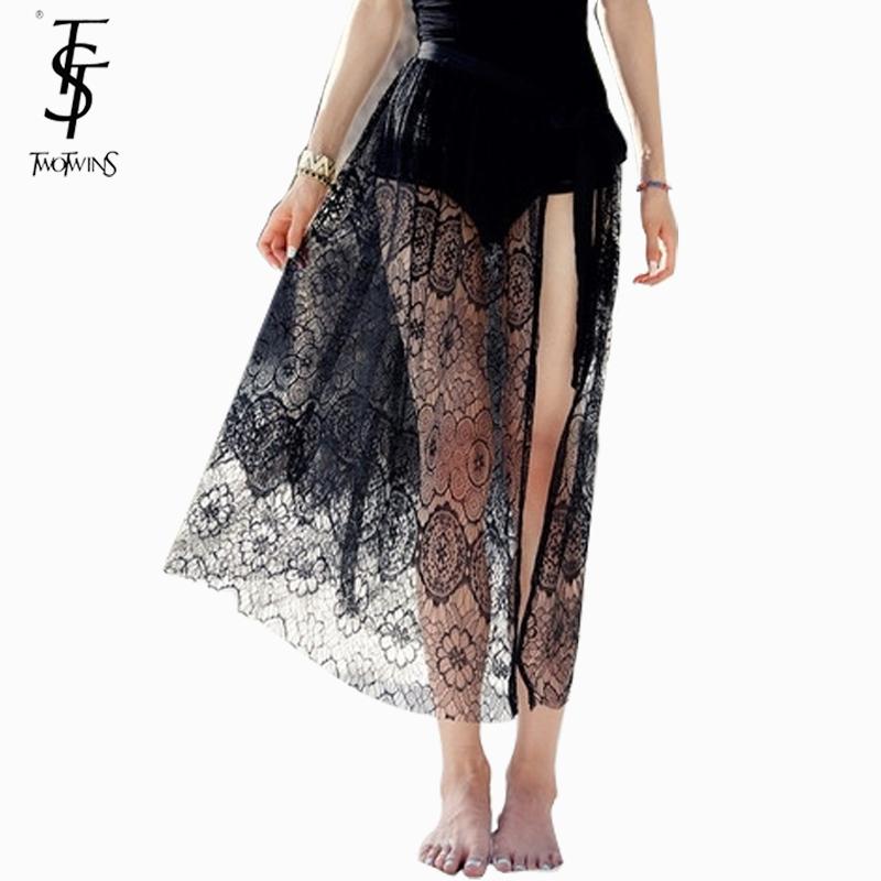 b755f39e1 2015 new Summer Sexy beachwear mesh hollow out crochet women beach skirts  female lace beach cover