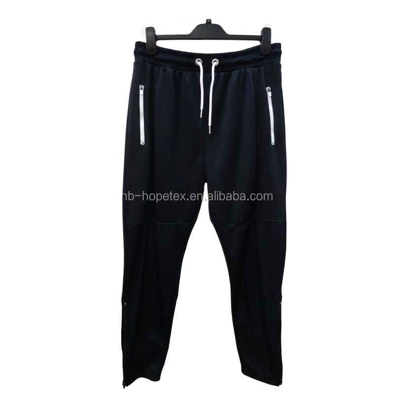 mens jogger pants new fashion pattern design in clinquant velvet fabric