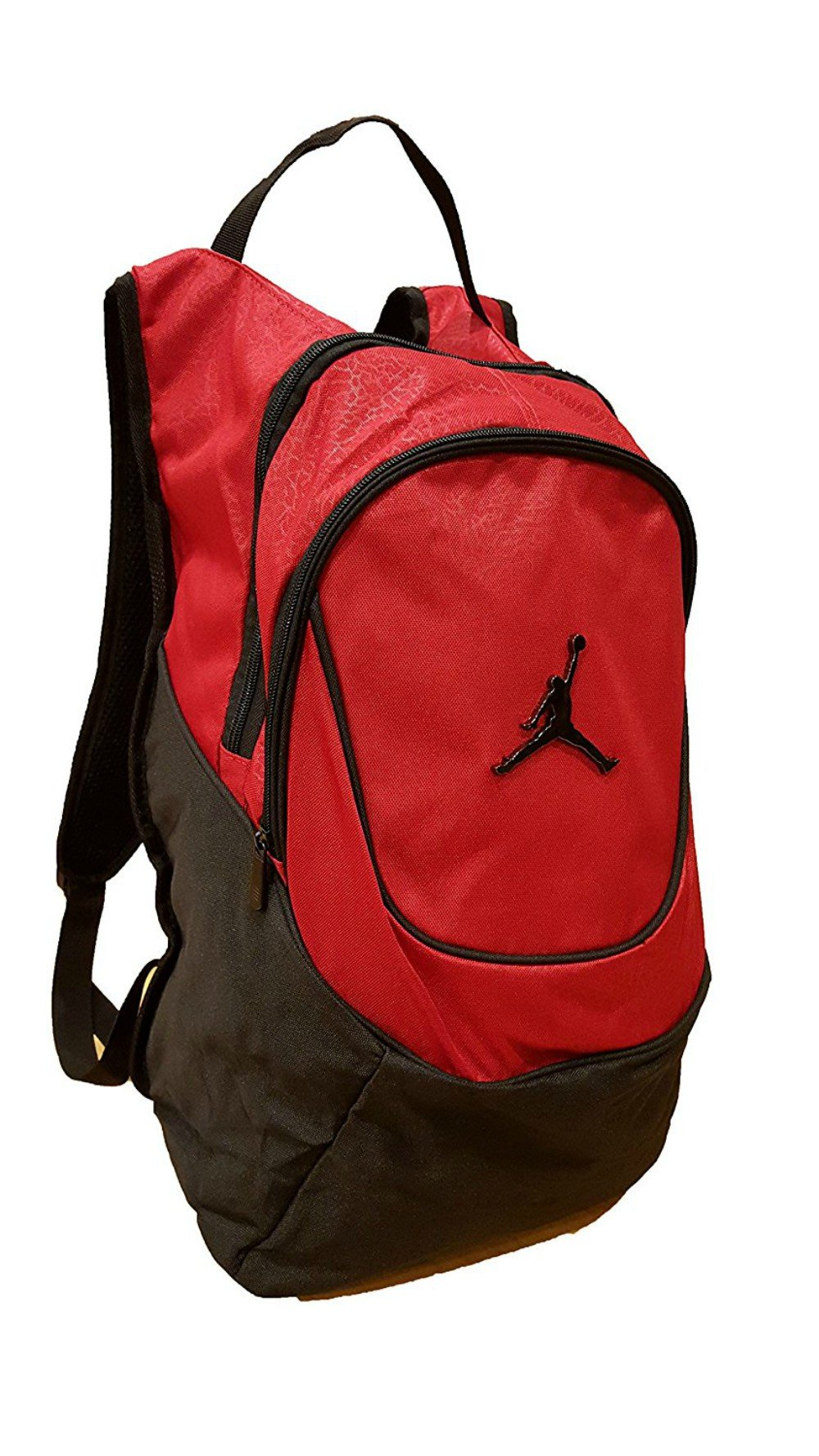 26582a6ced Get Quotations · Jordan Nike Air Jumpman Laptop Backpack Book Bag-Red  w FREE Cell Phone Anti