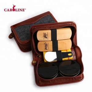 Top sale eco-friendly portable shoe shine kits care cleaning kit