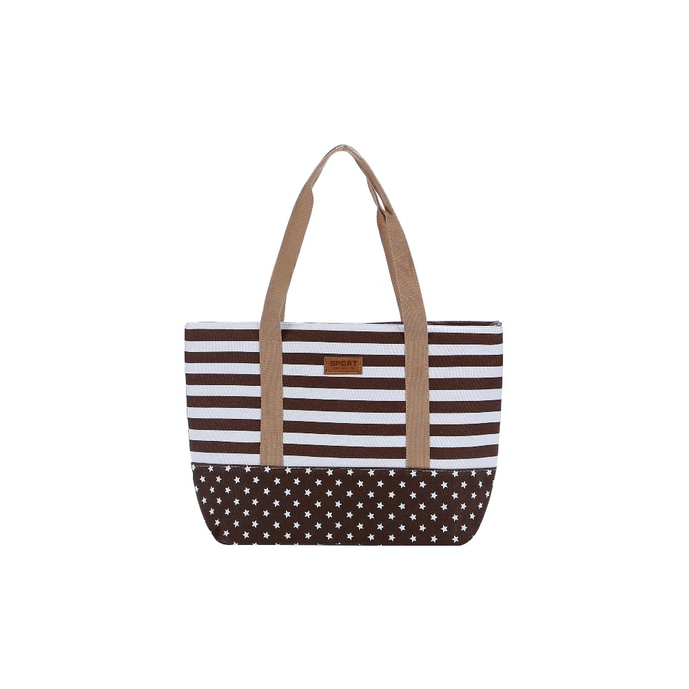 hot sale oem Custom Canvas Tote Bag Cotton Rope Handle Beach Bag for Women