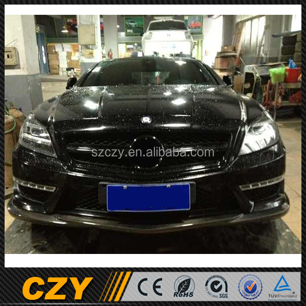 W218 CLS63 Racing Carbon Fiber Front Lip Spoiler for Mercedes Ben z CLS CLASS W218 AMG