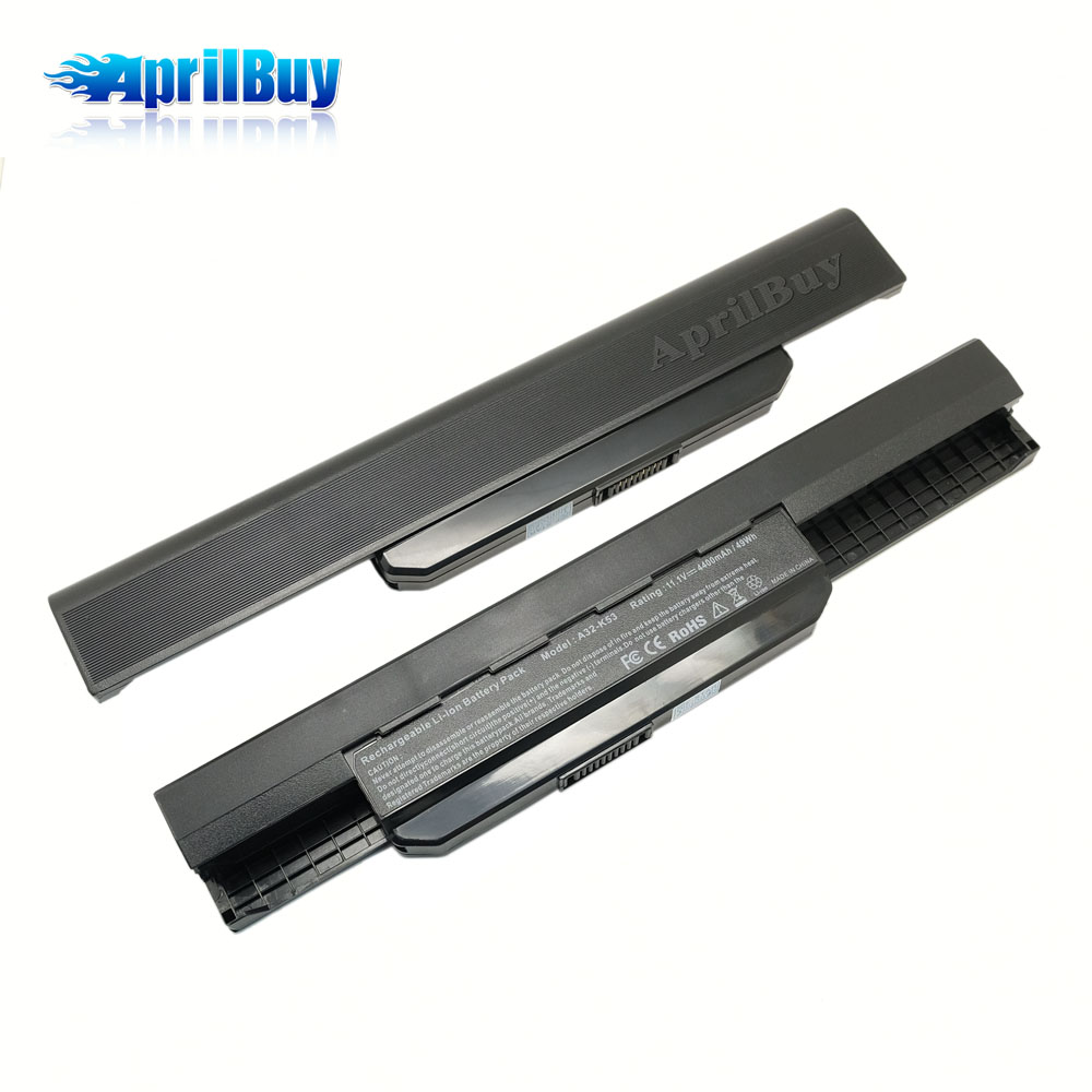 Battery A32-K53 For Asus Notebook Computer Battery A43S K43SJ X43S X84 X54H A53 X44H