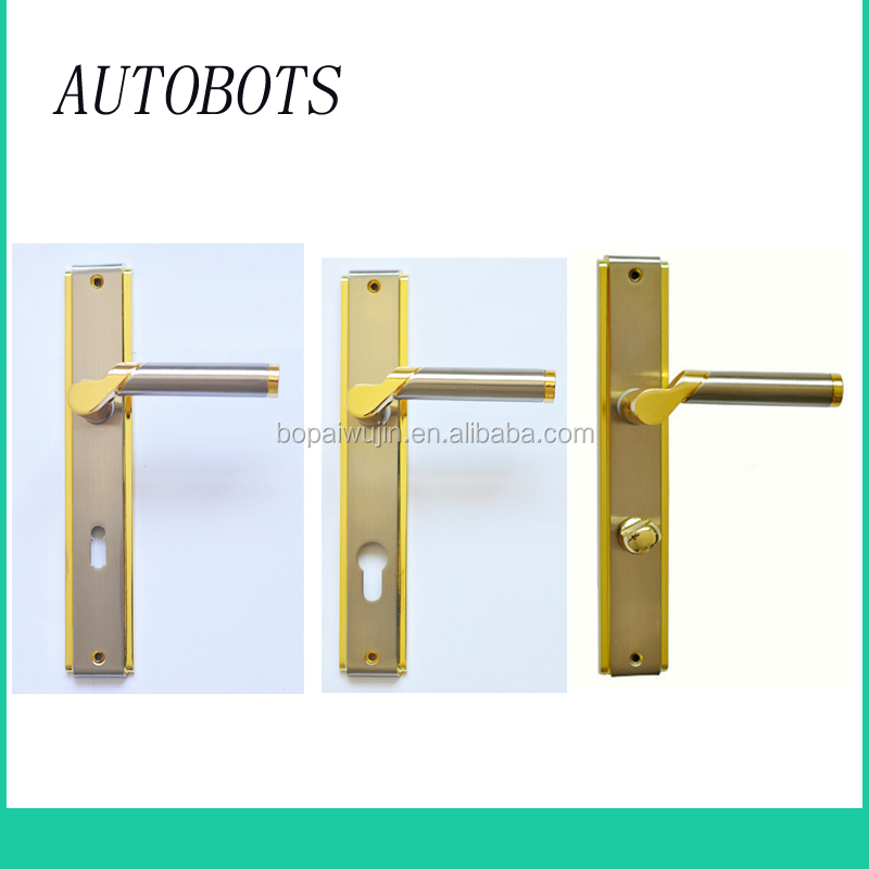wenzhou Supplier Wooden Type zinc alloy Lever Door Handle