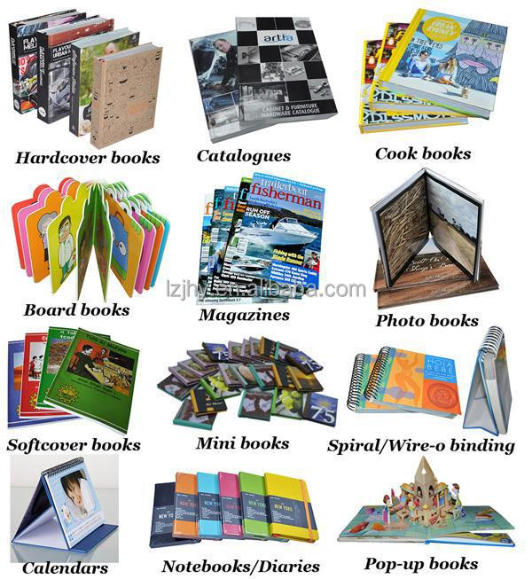 Cheapest book printing self publish cooking book printing recipe book print