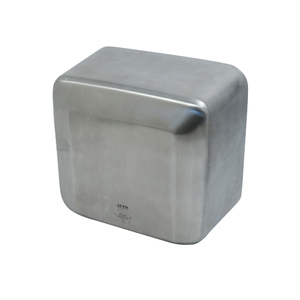 Automatic Surface-Mounted Hand Dryer with Brushed Stainless Steel Cover