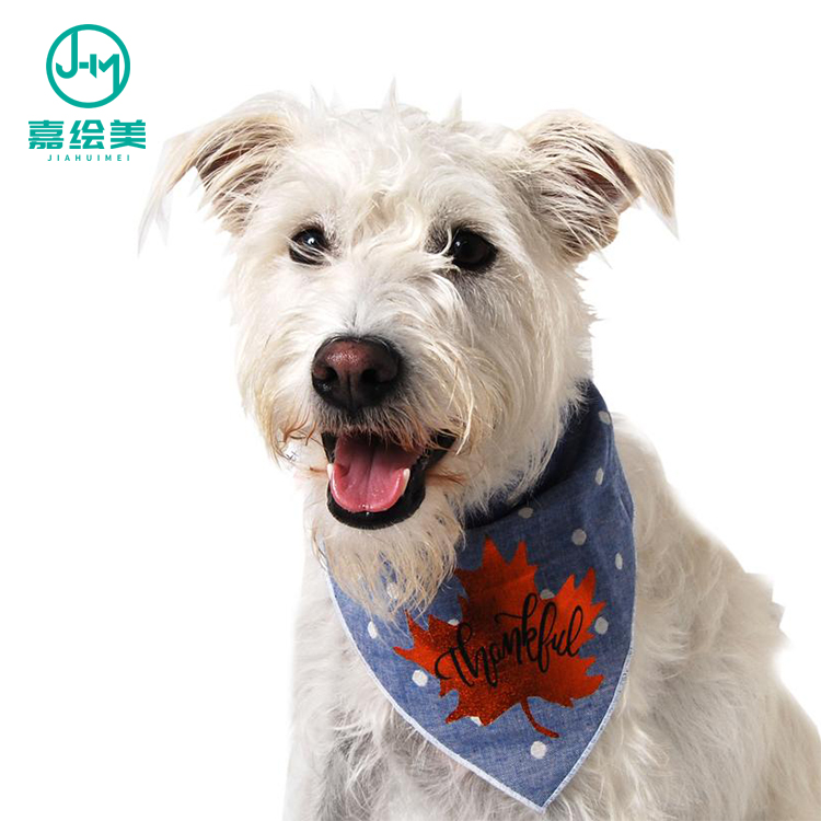 High quality custom design sublimation dog bandana with logo ,dog bandana pet
