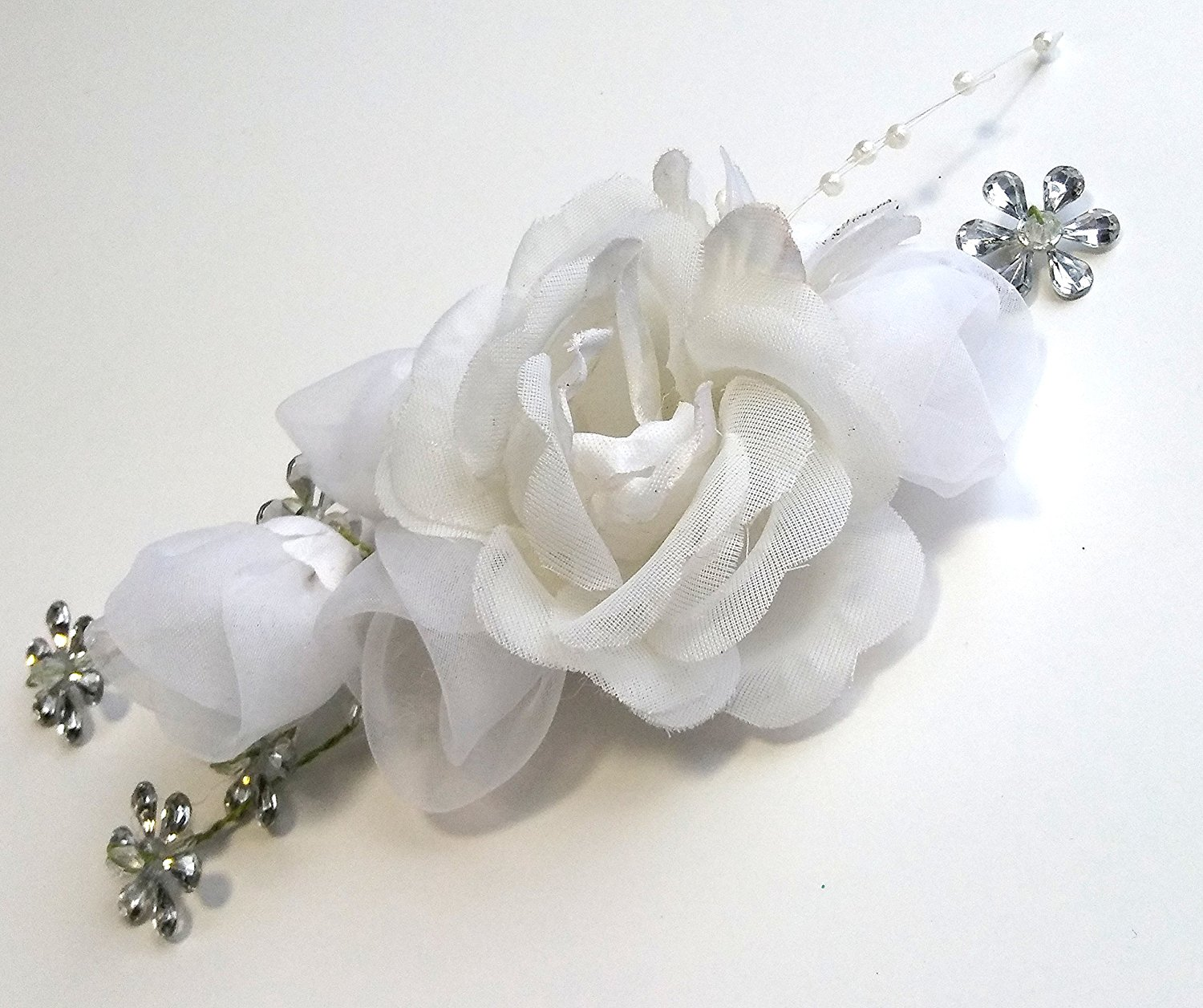 Cheap Silver Flower For Hair Find Silver Flower For Hair Deals On