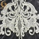 Gorgeous Handwork Cord Embroidered Beaded And Sequins French Styles Bridal Lace Fabric For Wedding Party