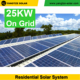 Free shipping on grid 25kw grid solar power system