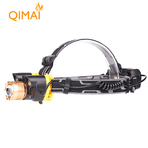 Most Powerful Waterproof 4 Modes Camping Headlamp Micro USB Rechargeable COB LED Miner Head Lamp