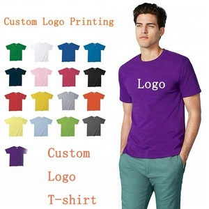 100% Cotton Printing T Shirt Custom Men T Shirt