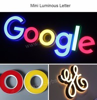Full Color And Different Style 3d Led Letter Light Box Sign - Buy ...