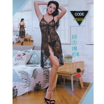 cd400a01ed Wholesale lenceria sexy erotic clothes women black lace transparent nighty  lingerie sexy babydoll hot night dress
