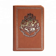 harry potter journal leather with logo