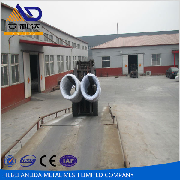Low price pvc coated galvanized steel wire rope with high quality for the construction
