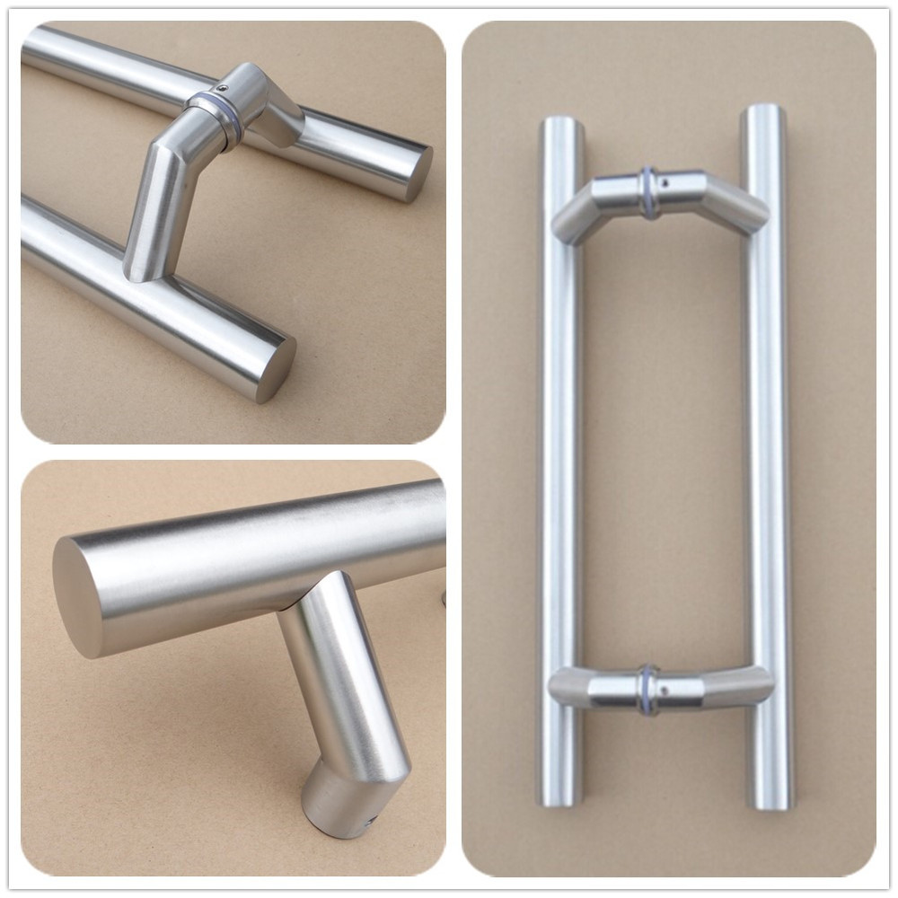 commercial door pulls. RB-3283 Double Sided Stainless Steel Door Pull Handles For Commercial Pulls R