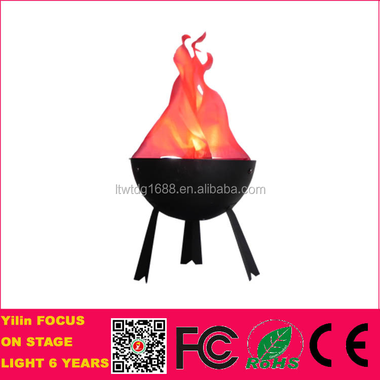 Stage Effect Silk Cloth Artificial Fake Fire Flame Led Light