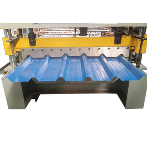 Factory Prices Making Building Material wall panel metal roofing Fascia Trapezoidal Tile Roll Forming Machine For Sale