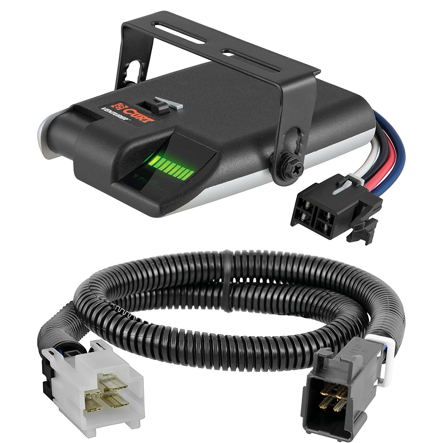 Get Quotations · CURT Venturer Electric Brake Controller & Wiring Kit for  2009-2011 Kia Borrego - 51442