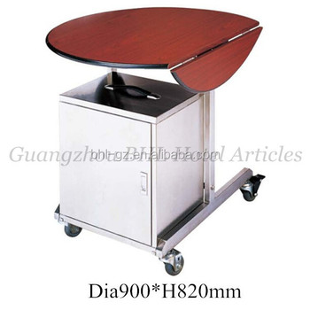 Hotel room service trolley stainless steel catering for Hotel room service cart