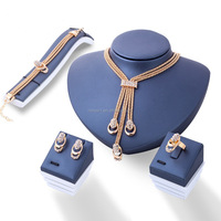 Fashion jewelry set 4 piece earring sets necklace for women Wholesales HS-170