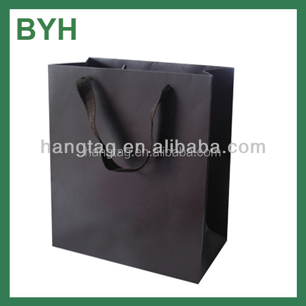 China luxury raw material of paper bag for shopping