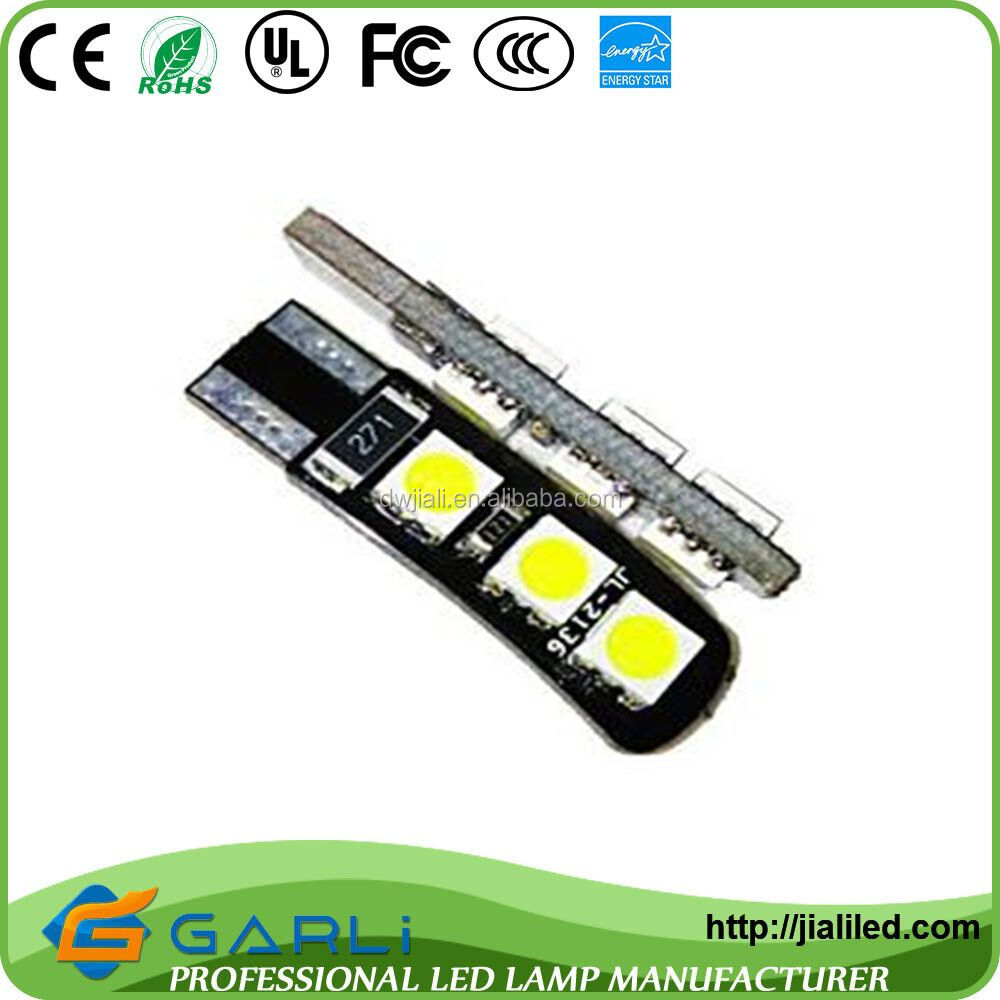 3W C5W Festoon canbus T10 6 5050smd led Dome instrument Light Car Reading Interior Map Roof light 12V