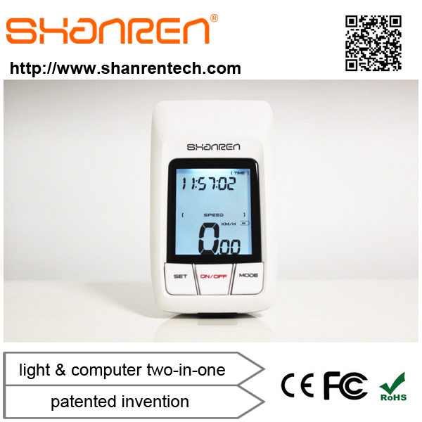 ShanRen patented invention 2.4G wireless china factory best wireless cycle computer